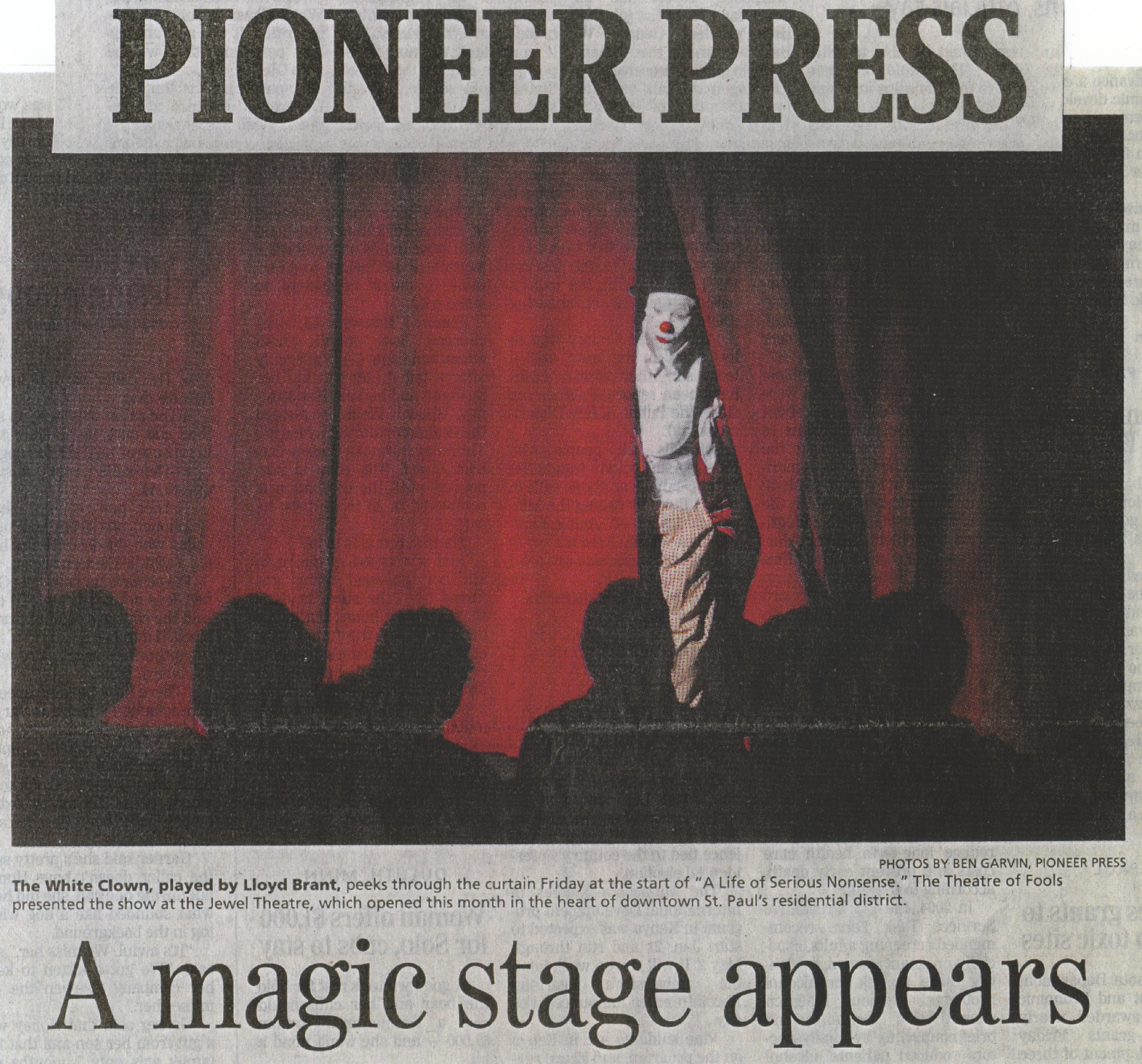 Jewel Theatre Press