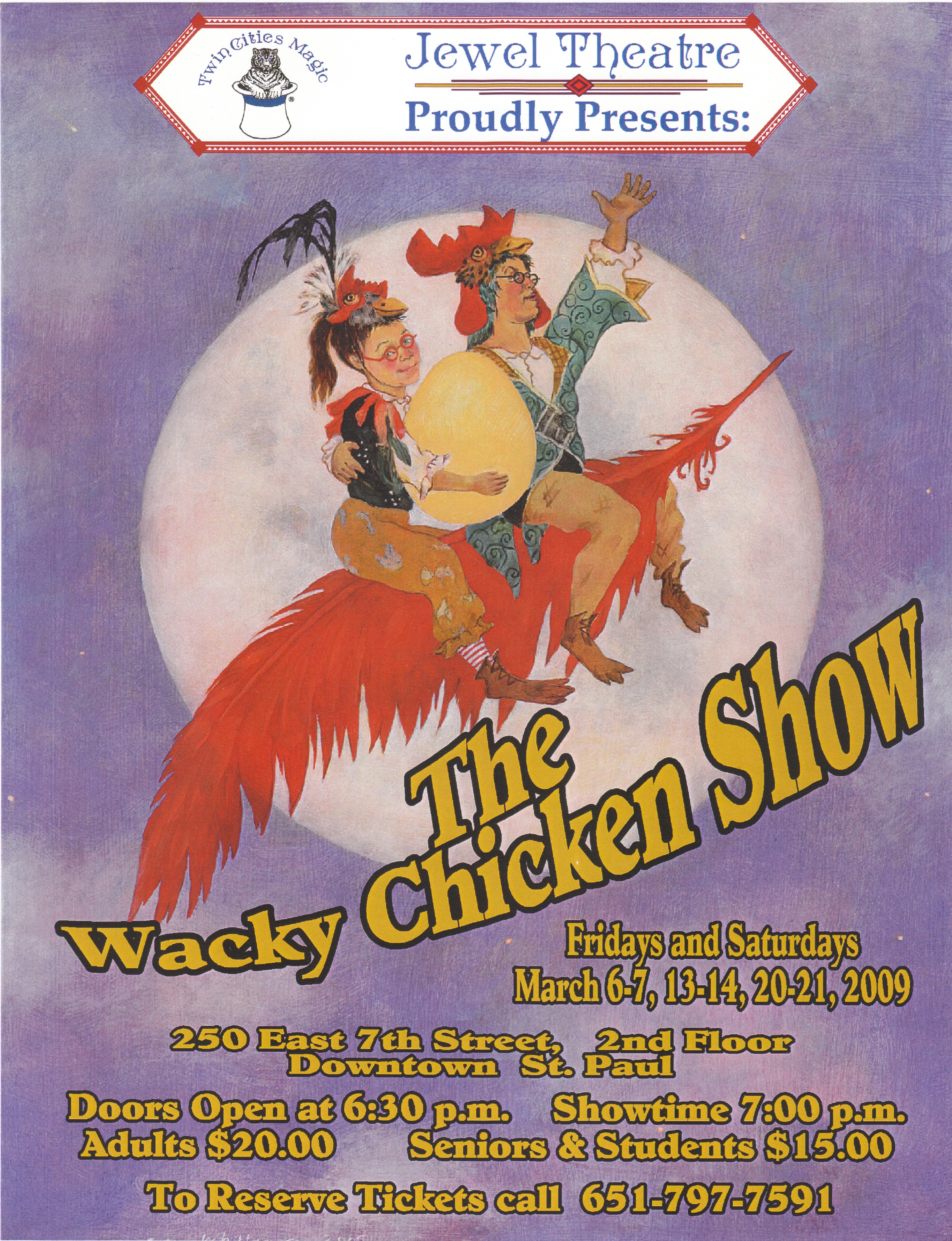 Jewel Chicken Show