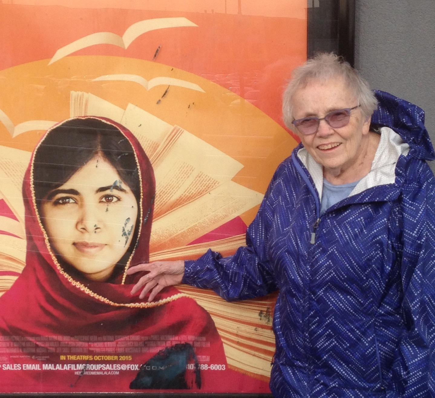 Mom and Malala