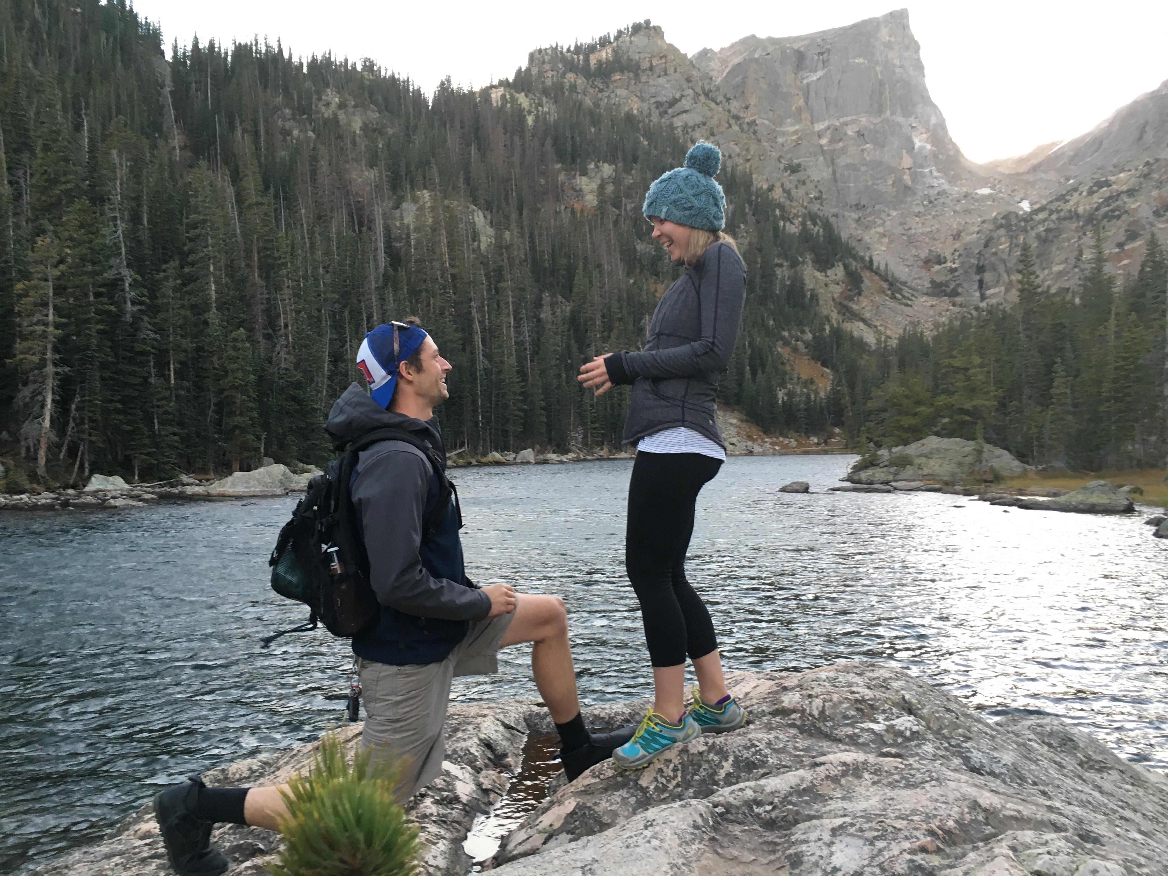 Rew proposing to Liza