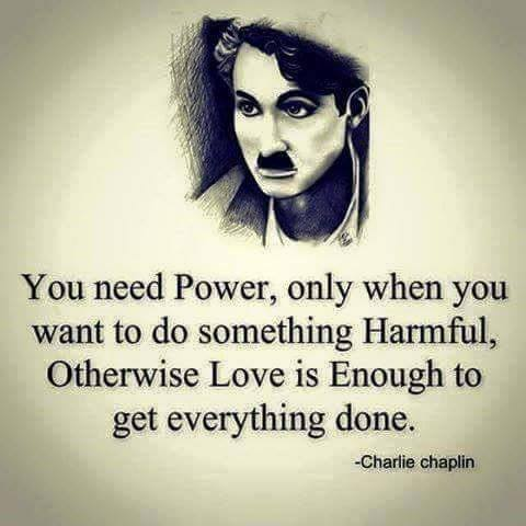 Chaplin Quote About Love