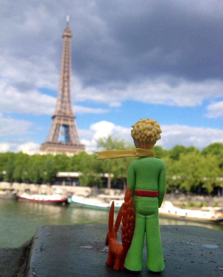 The Little Prince & Eiffle Tower