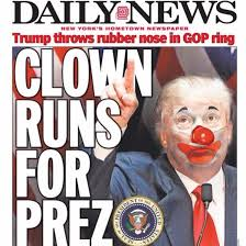 Trump in Clown Make-up