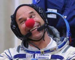 #1 Guy Laliberte' in space