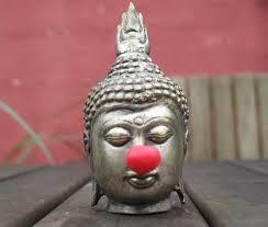 #1 Red Nose on Buddha