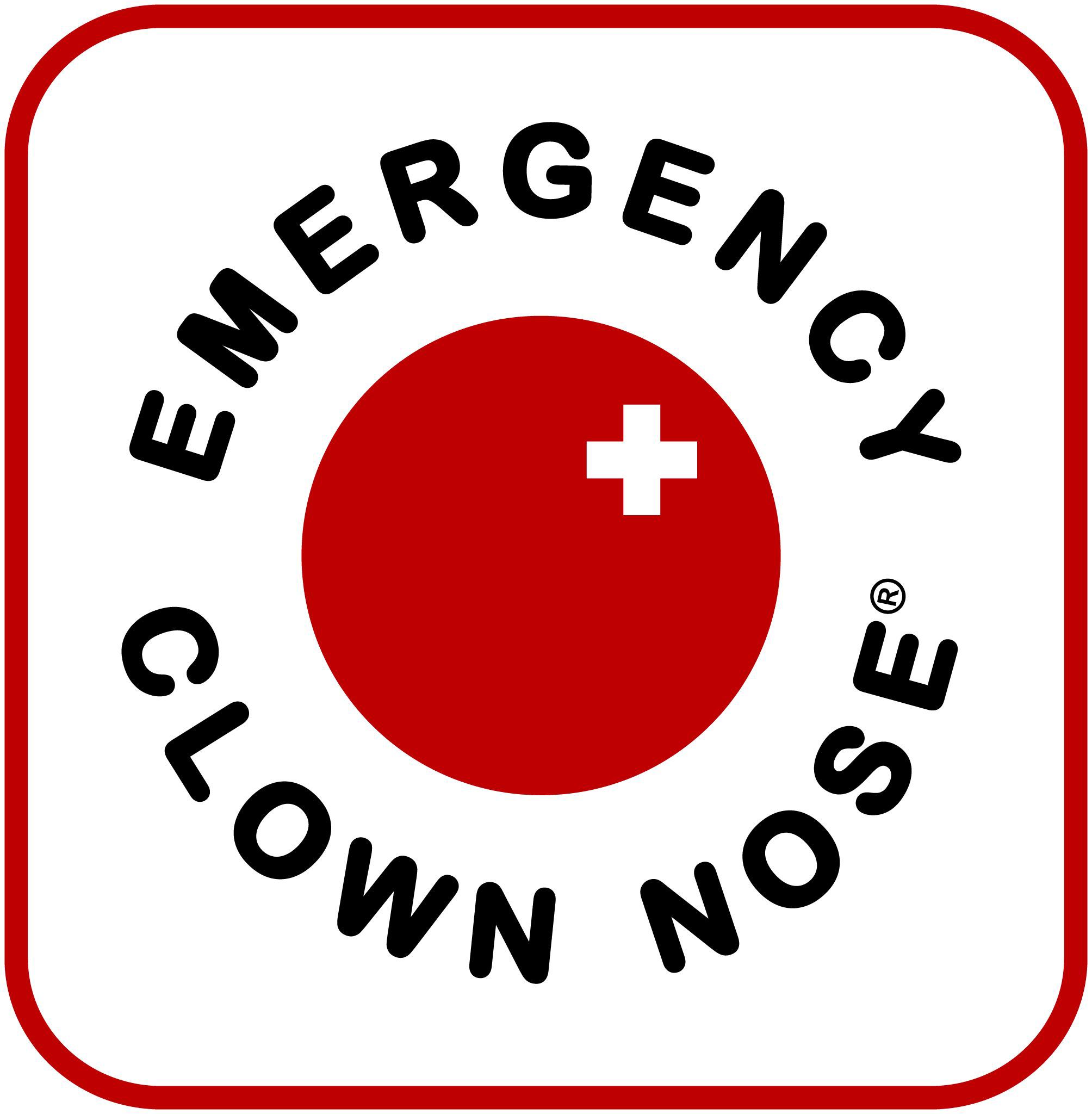 Emergency Clown Nose Logo