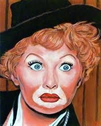 Lucy with Red Skelton Make-up
