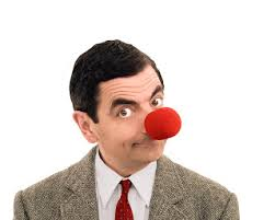 Red Nose Mr Bean