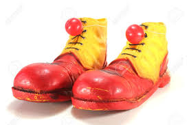 Clown Shoes with Red Noses