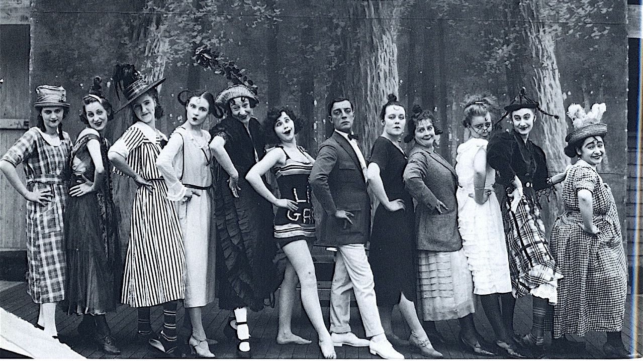 Buster Keaton & Gals