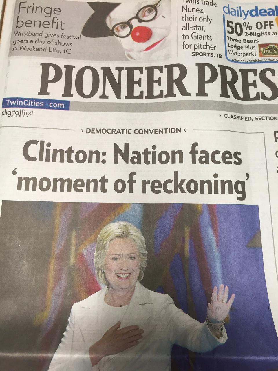 Pioneer Press Photo